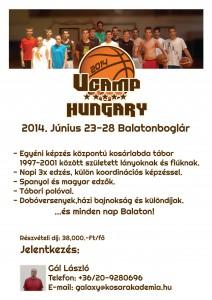 Ucamp Balatonboglár június 23-28.